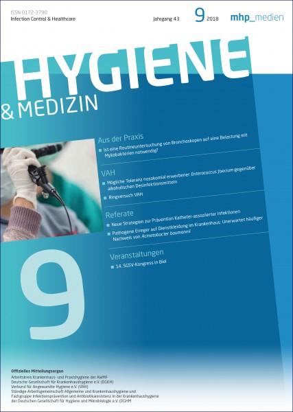 Hygiene & Medizin 9/2018
