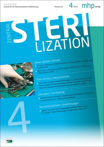 Zentralsterilisation 04/2018