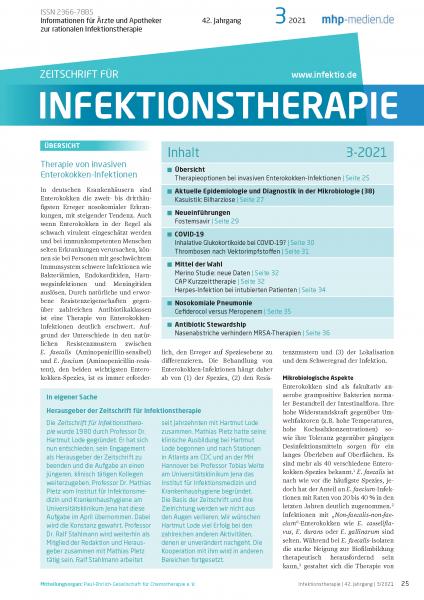 Zeitschrift für Infektionstherapie 03/2021
