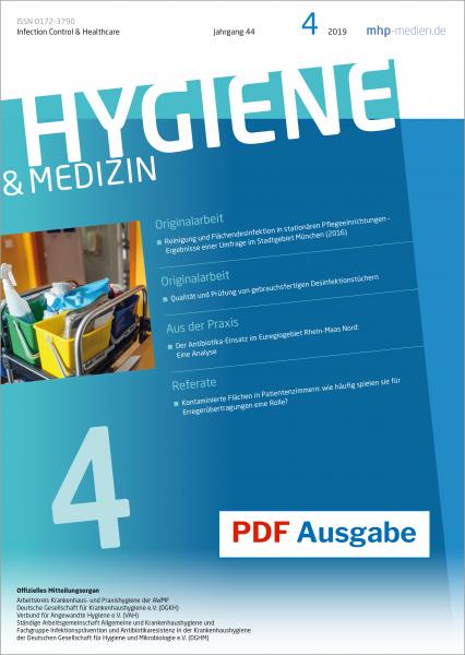 PDF Ausgabe - Hygiene & Medizin - 04/2019