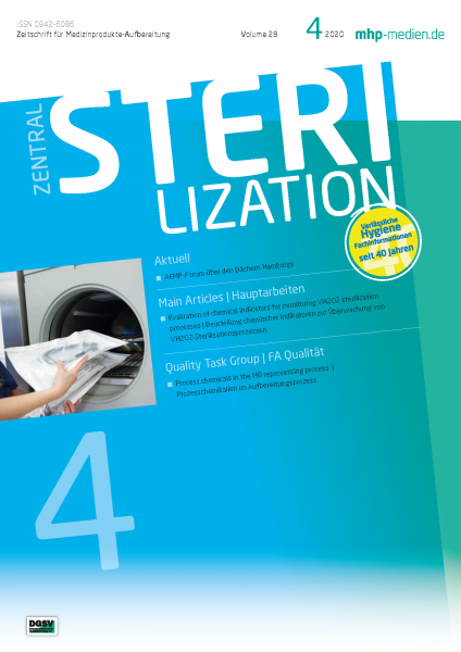 ZENTRALSTERILISATION 04/2020