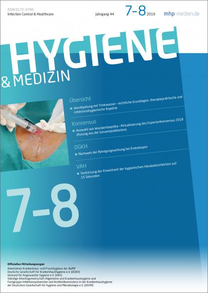 Hygiene & Medizin - 07+08/2019