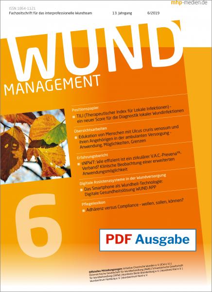 PDF-Ausgabe Wundmanagement 06/2019