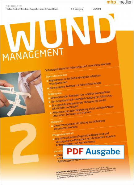 PDF-Ausgabe Wundmanagement 02/2019