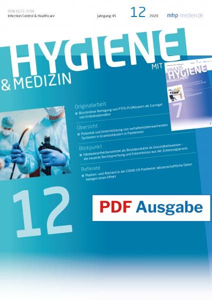 PDF Ausgabe - HYGIENE & MEDIZIN - 12/2020