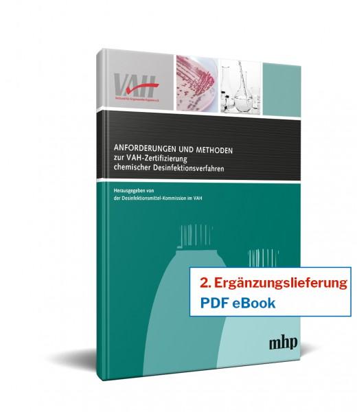 eBook - 2. Ergänzung zu Anforderungen und Methoden zur VAH-Zertifizierung von Desinfektionsverfahren