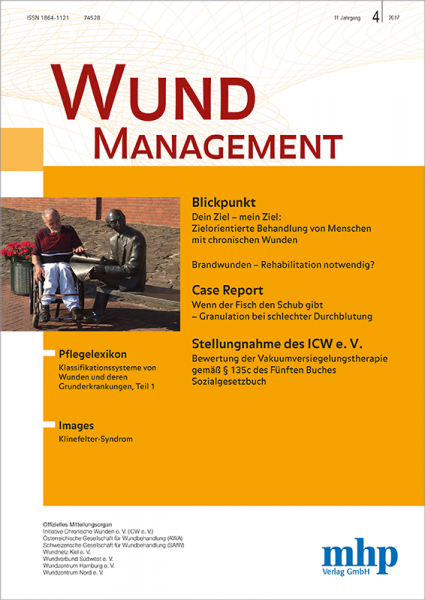Wundmanagement - 04/2017