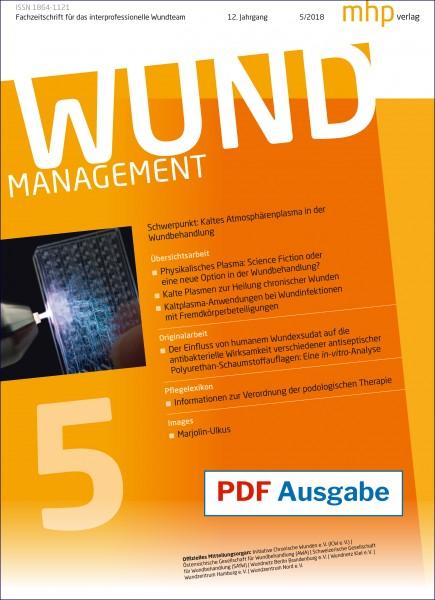 PDF Ausgabe - Wundmanagement 05/2018