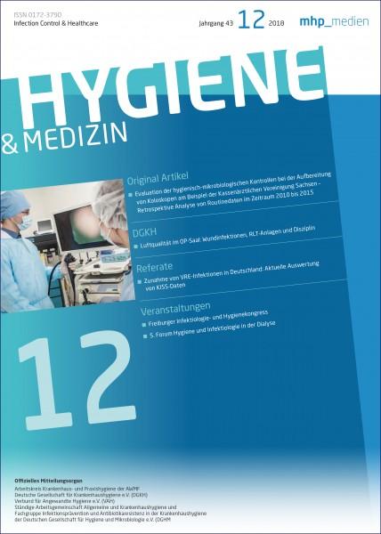 Hygiene & Medizin 12/2018