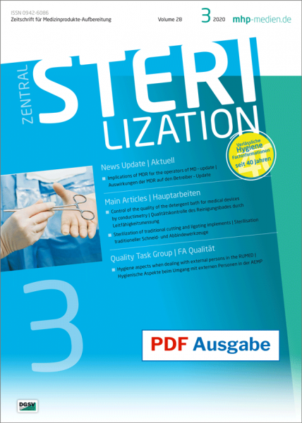 PDF issue - Zentralsterilization 03/2020