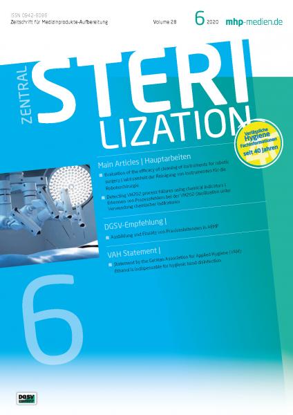 ZENTRALSTERILISATION 06/2020