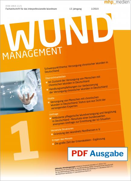 PDF-Ausgabe Wundmanagement 01/2019