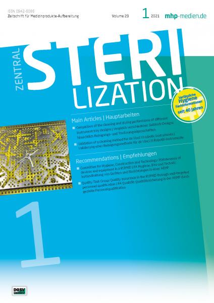 ZENTRALSTERILISATION 01/2021