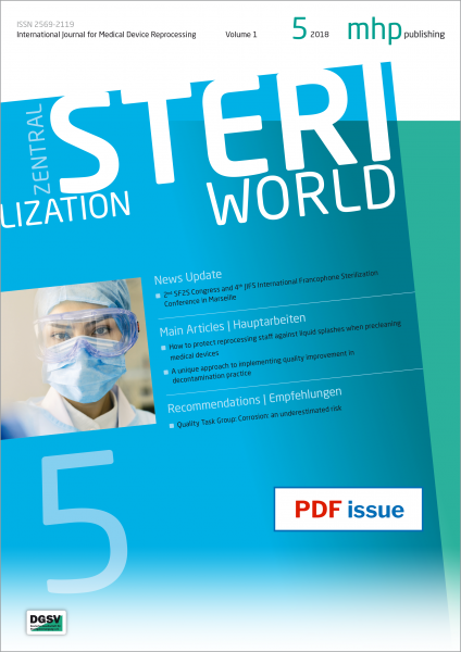 STERI WORLD 05/2018