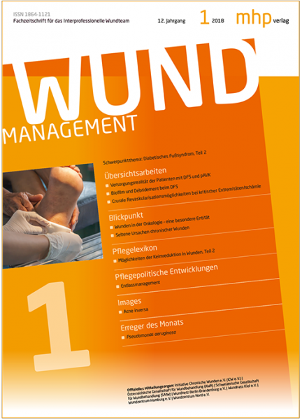 Wundmanagement 01/2018