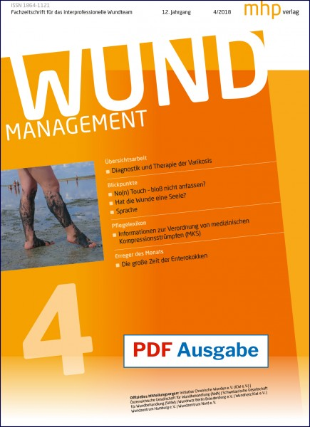 PDF Ausgabe - Wundmanagement 04/2018