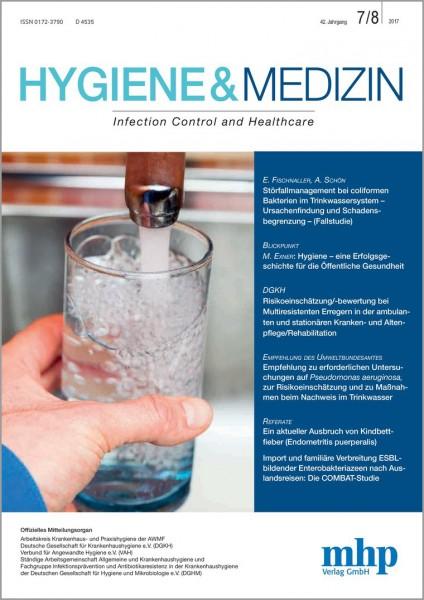 Hygiene & Medizin 07+08/2017