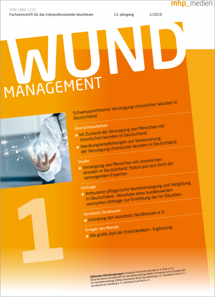 Wundmanagement 01/2019