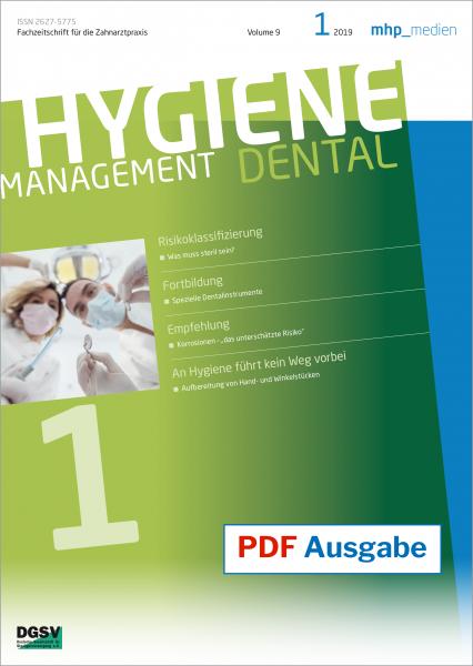 PDF Ausgabe - HYGIENEManagement - 01/2019