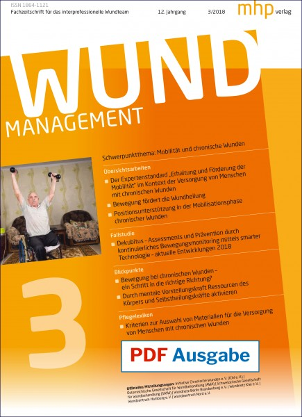 PDF Ausgabe - Wundmanagement 03/2018