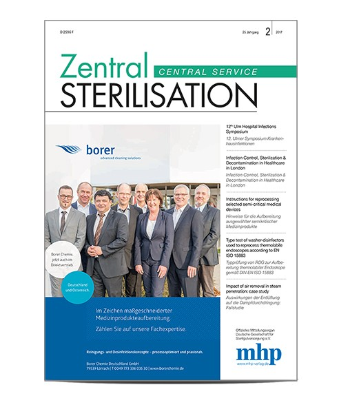 Zentralsterilisation 02/2017