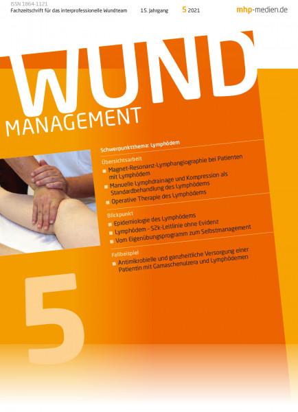 WUNDmanagement 05/2021: Thema Lymphödem