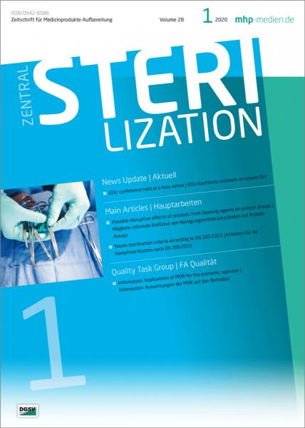 ZENTRALSTERILISATION 01/2020