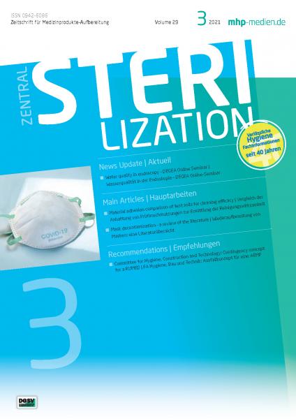 ZENTRALSTERILISATION 03/2021