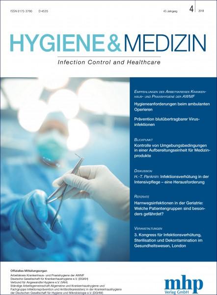 Hygiene & Medizin 4/2018
