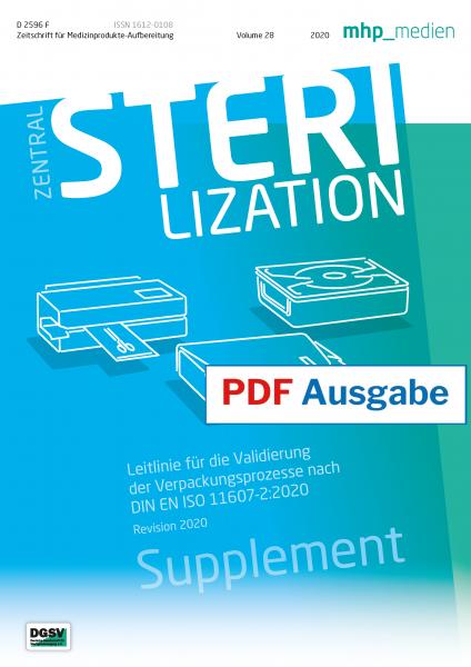 PDF-Ausgabe - Leitlinie für die Validierung der Verpackungsprozesse nach DIN EN ISO 11607-2:2020