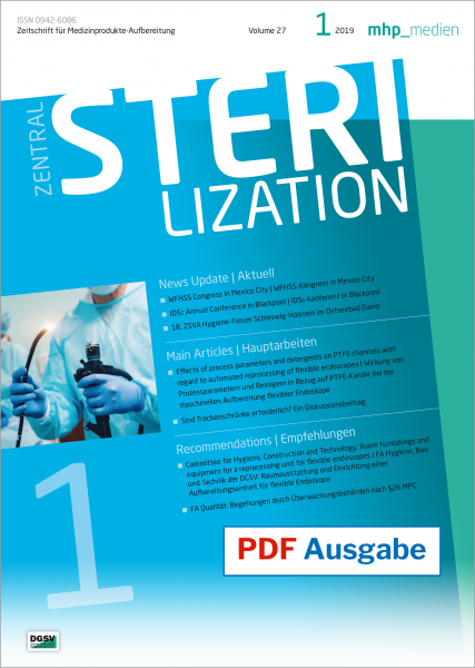 PDF issue - Zentralsterilization 01/2019