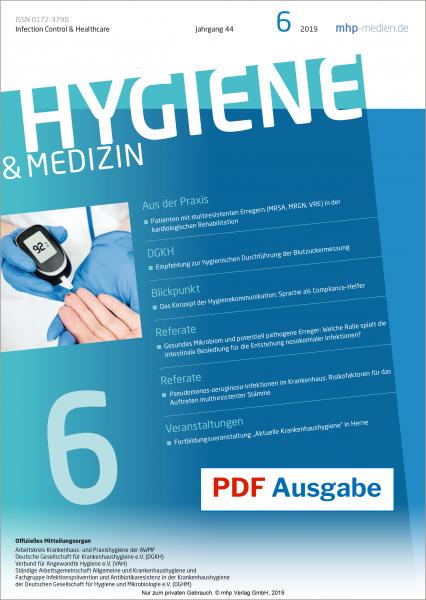 PDF Ausgabe - Hygiene & Medizin - 06/2019