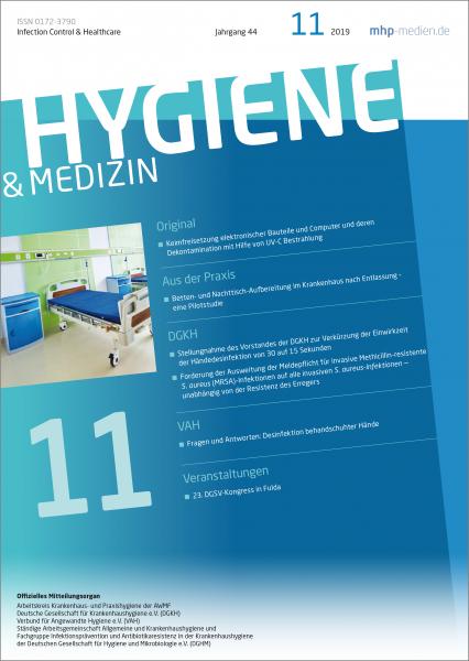 Hygiene & Medizin - 11/2019