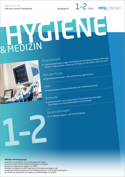 Hygiene & Medizin 01+02/2019
