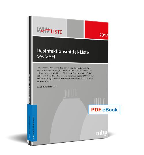 PDF eBook Desinfektionsmittel-Liste des VAH 2017