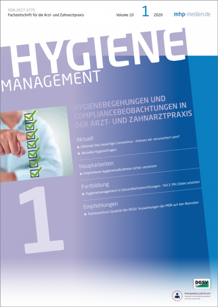 HYGIENEmanagement - 01/2020