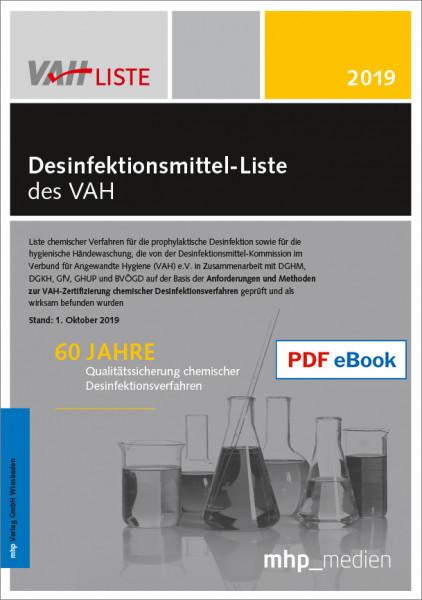 PDF eBook - Desinfektionsmittel-Liste des VAH 2019