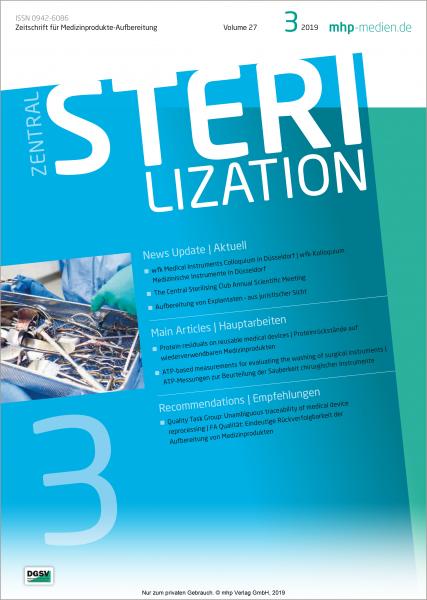 Zentralsterilisation 03/2019