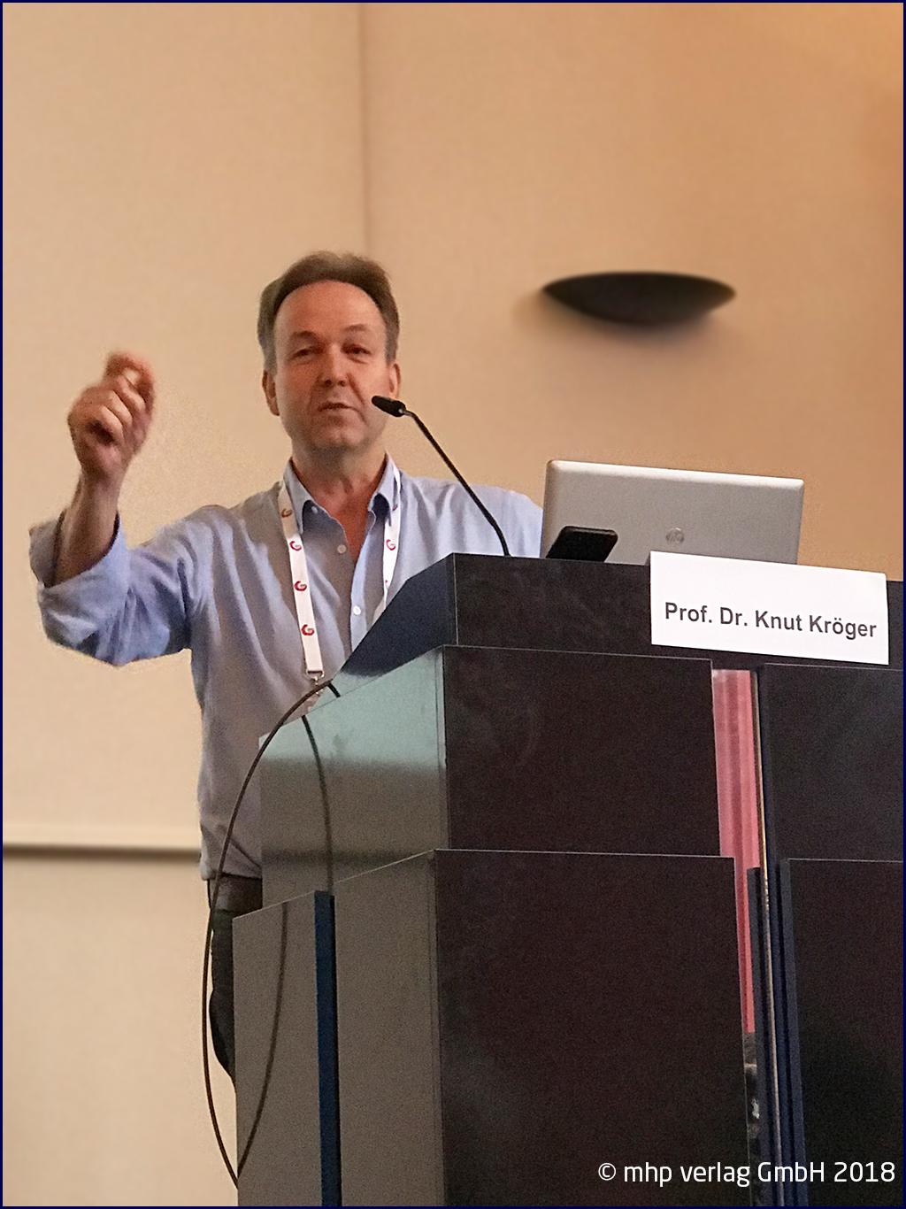 Prof. Dr. Knut Kroeger, WUNDupdate 2018