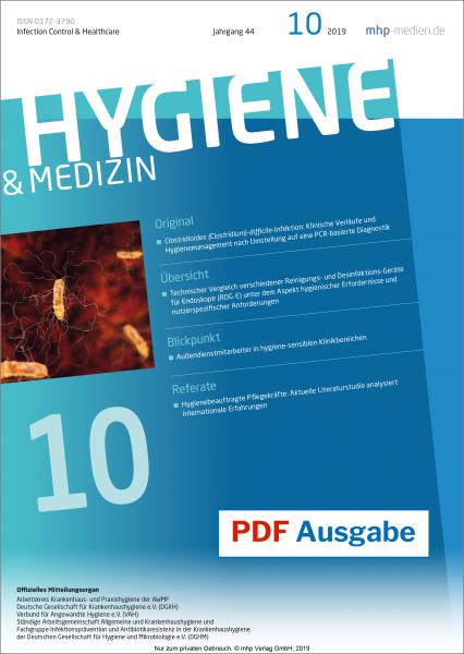 PDF Ausgabe - Hygiene & Medizin - 10/2019