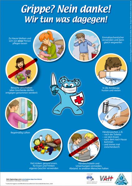 Hygienemaßnahmen zur Vermeidung von Atemwegsinfektionen