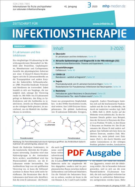 PDF Ausgabe - Zeitschrift für Infektionstherapie 03/2020