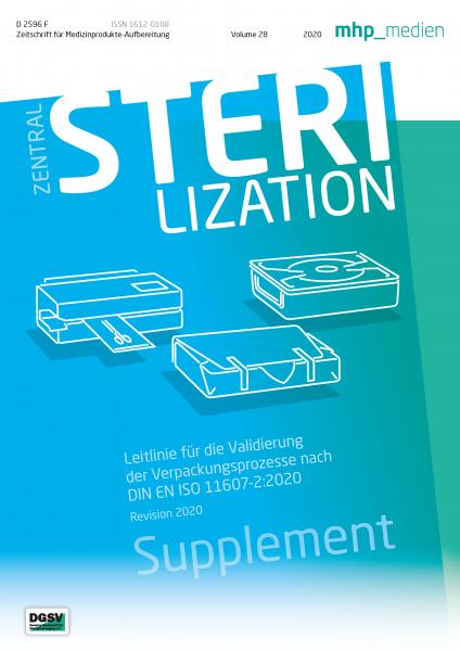 Leitlinie für die Validierung der Verpackungsprozesse nach DIN EN ISO 11607-2:2020