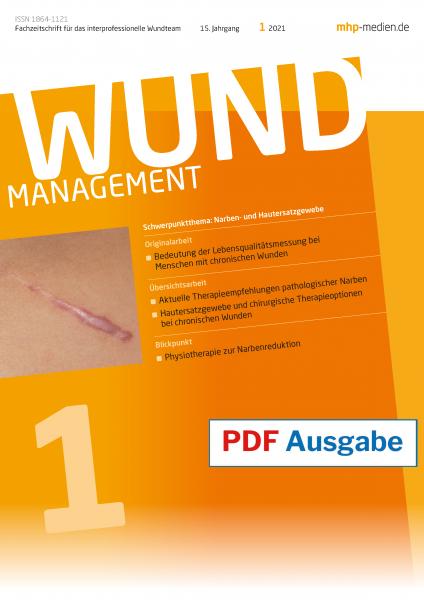 PDF-Ausgabe Wundmanagement 01/2021