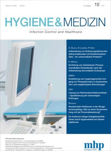 Hygiene und Medizin 10/2017