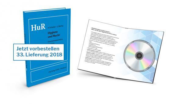 Hygiene und Recht - CD - 33. Lieferung