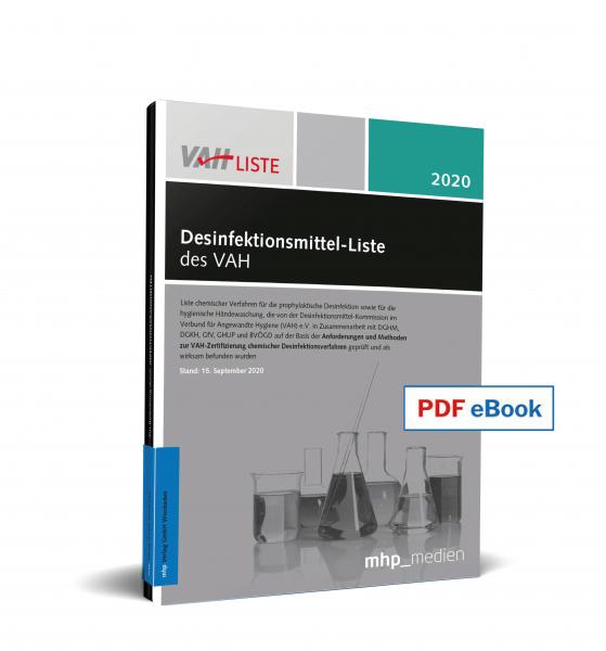 PDF eBook - Desinfektionsmittel-Liste des VAH 2020