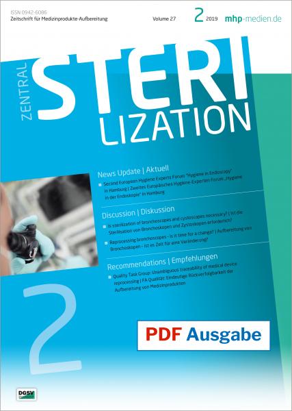 PDF Ausgabe - Zentralsterilisation 02/2019