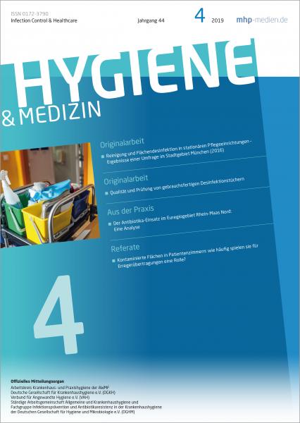 Hygiene & Medizin - 04/2019