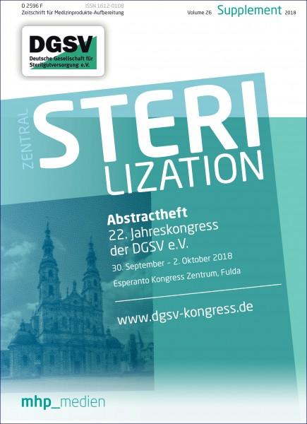 Abstractheft - 22. Jahreskongress der DGSV e.V.